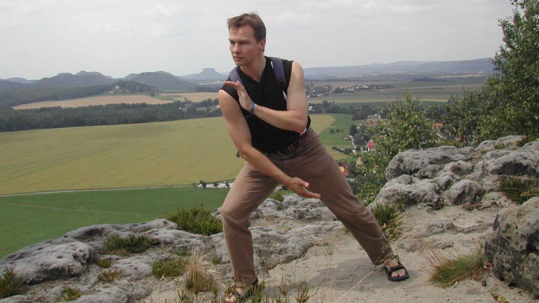Stretching mit Hirschhornmesser